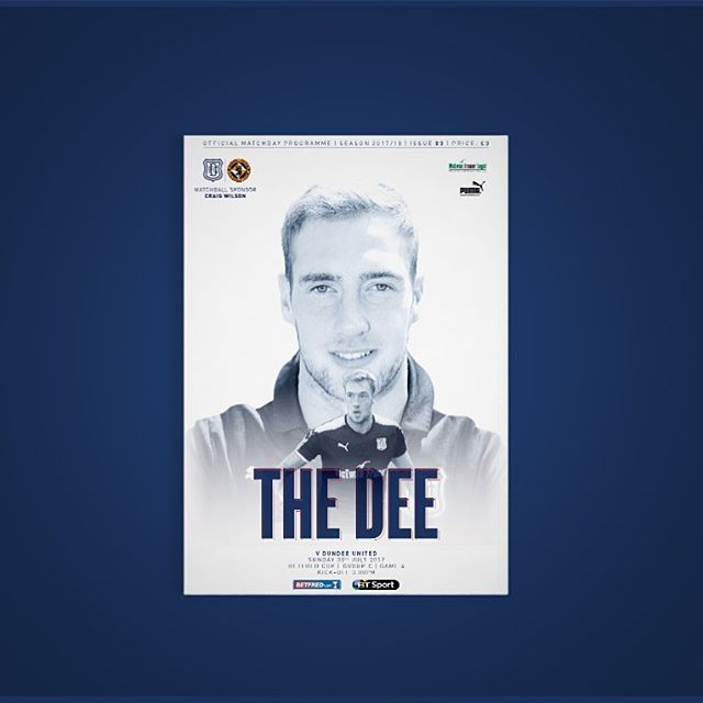 The Dee | Issue 03 | Dundee v Dundee United | Betfred Cup . #graphicdesign #football #futbol #puma #design #designer #graphicdesigner #blue #Colour #dundee #thedee #indesign #photoshop #soccer #holt #tangerines #cover #programme #matchday #like #insta #follow #cover #programme #matchday #DUFC #like #insta #follow