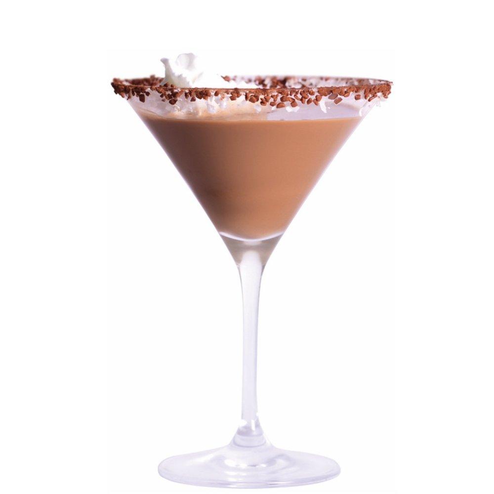 ESPRESSO BOMTINI Shake 3 parts Coco Mochanut with 1 part Espresso or regular Vodka. Strain and serve with garnish.