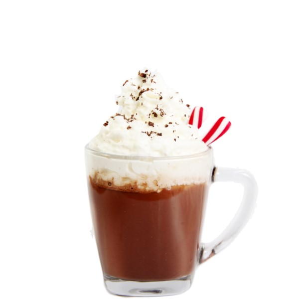PEPPERMINT BOM Shake 3 parts Coco Mochanut and 1/2 part Crème de Menthe with ice. Strain, pour and garnish with whipped cream, coco and peppermint sticks.