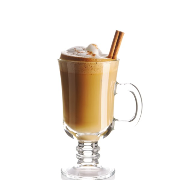 SPICE BOM   Shake 2 parts Coco Mochanut, 2 parts Apple Pie Liqueur, and 3 parts brewed tea.  Serve either hot or iced.  Garnish with whipped cream and a cinnamon stick.