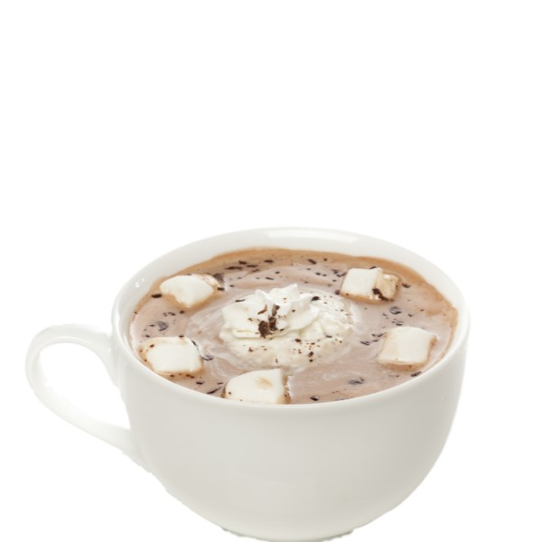 COCOA BOM   Combine Coco Mochanut and your favorite hot chocolate drink in a mug. Add spiced rum as desired. Float whipped cream on top and sprinkle chocolate flakes.