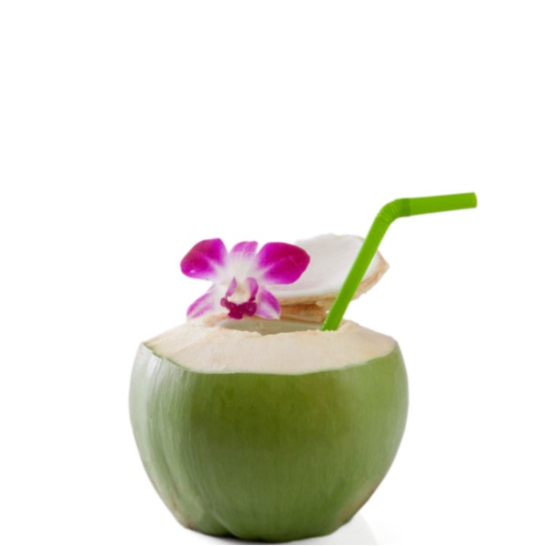 VITA BOM   Mix 3 oz. Nilli Vanilli and 3 oz. coconut water together and pour over ice.  Serve in a tall glass or coconut.