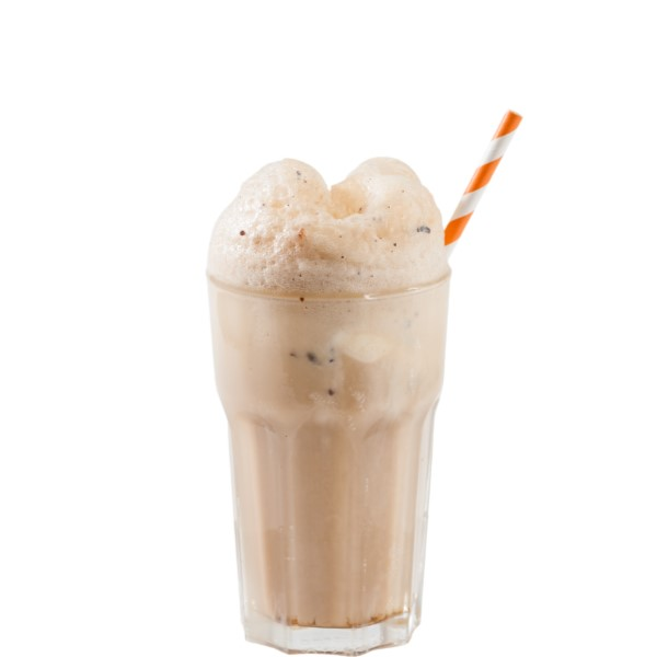 BOM FLOAT   Slowly pour Not Your Father's or Coney Island Root Beer over ice (3/4 full) and wait for effervescence to subside. Top with Nilli Vanilli and stir (Don't Shake). Whipped cream and cherry optional.