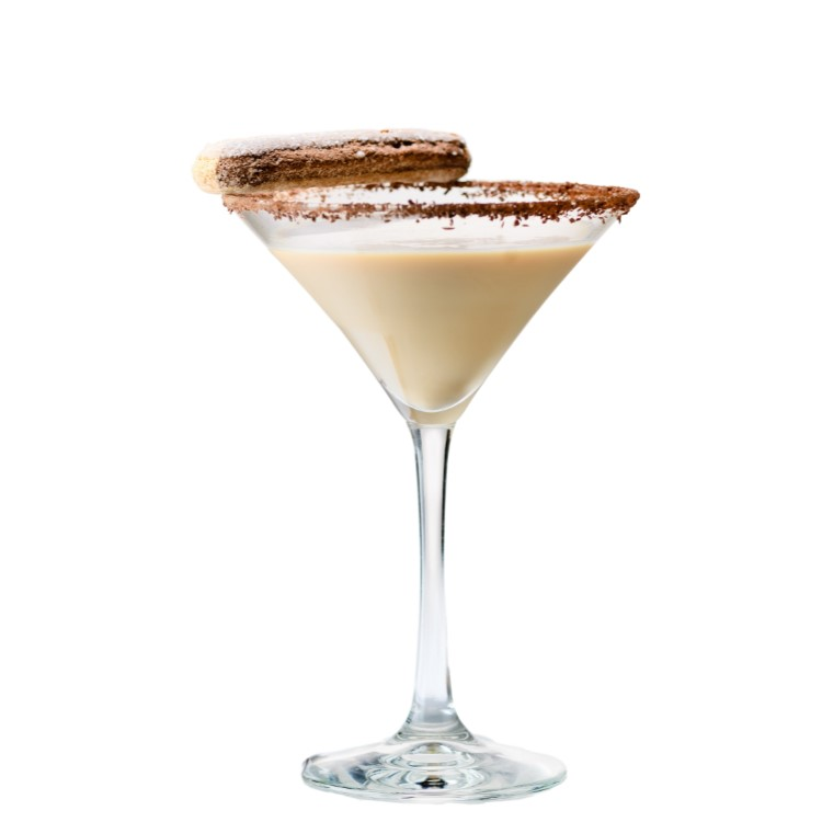 COQUITO    Mix (with whisk) or shake 3 oz. Nilli Vanilli with 1.5 oz. coconut rum, a dash or nutmeg and a dash of cinnamon. Chill or shake with ice. Optional churro or cinnamon stick garnish.