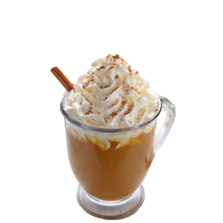 Pumpkin Spice BOM   Shake 3 parts Nilli Vanilli, 1 part vanilla or chai vodka and a spoon of pumpkin pie filling with ice. Strain and pour. Garnish with whipped cream and cinnamon.