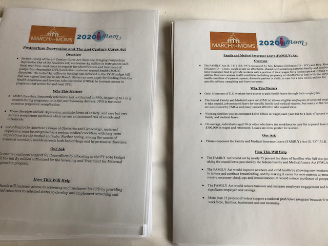 Fact Sheets on the bills we advocated for on Capitol Hill.