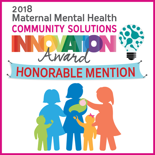 Honorable Mention: Docs for Tots: Well Moms, Well Tots Maternal Depression Program