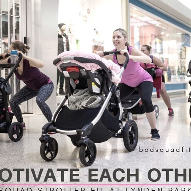 BRANT STROLLER FIT BOOTCAMP at LYNDEN PARK MALL, Brantford - work out before the mall opens!  NEW 6 week SESSION – starts Wed., March 7, 2018 Email: info@bodsquadfit.com  or call: 519-770-5151  Grab your stroller and get fit with our Bootcamp on Wheels! Perfect for new Moms getting back into exercising after baby or for those Moms looking to kick start their recovery.  Our Personal Trainers work with you and incorporate a mixture of cardio and strength training into each session. Our goal is to get your heart pumping and feet moving, while having fun, enjoying time with baby and making new friends!  WHEN: Wednesday mornings 9 - 10am  COST: only $50 for 6 weeks – includes meal plans if requested  TWO PERSONAL TRAINERS: Linda Molenaar, Personal Training Specialist Brianne D'Andrea, Personal Training Specialist #baby #stroller #mommy #exercise #breastfeeding #newmommy #newborn #newmom #postpartumbody #postpartum #babyboy #babygirl #infant #babylife #momma #bootcamp #workout #fitness #brantford #parisontario #brantfordontario