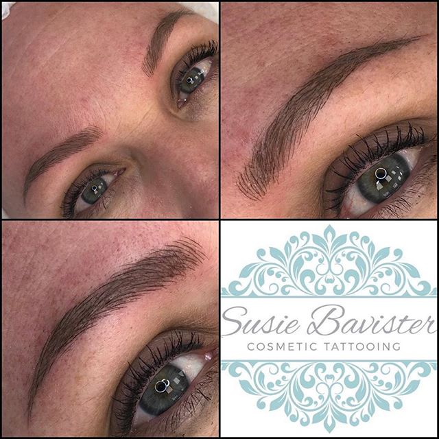 Super fine Bespoke Blading Nano brows. Last around 8 months to a year. Very comfortable treatment. Cost £200 if a top up is required around 6 weeks later it will be a further £50. #SusieBavister #eyebrows #eyebrowsonpoint #semipermanenttattoo #semipermanentmakeup #bespokeblading #microblading #nanoblading #creativebeauty #permanentmakeup #permanteyebrows #pmu #spmu