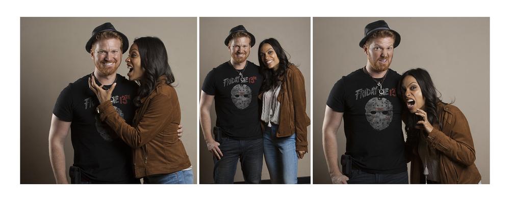 Josh & Rosario Dawson