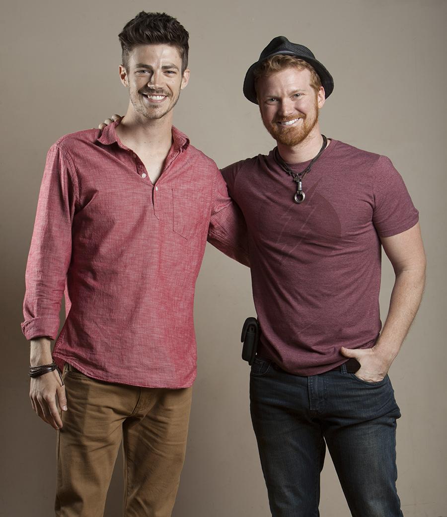 Josh Stringer & Grant Gustin