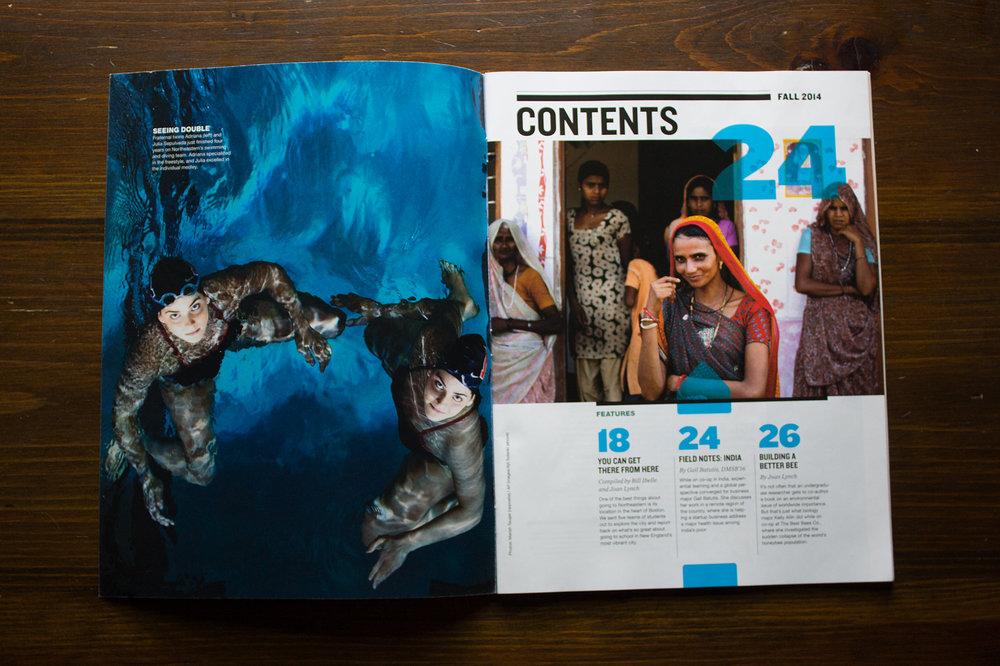 Magazine Art Direction | Bee Designs | Graphic Design