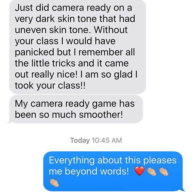 I'd say our #professionalmakeupartistry course is doing very well!  We love hearing this feedback!!! #makeupartist #makeupschool #southbaylamakeupartistryinstitute #makeupclass #mua #foundation #colorcorrection #colormatching #airbrushmakeup