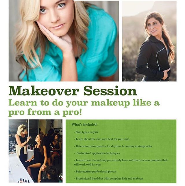 #Repost @promakeupandhairbytanya (@get_repost) ・・・ ✨HOLIDAY GIFT ALERT✨  Makeover Sessions for that special someone who loves to look her best and needs/wants a little guidance on how to achieve it. This was super popular last year for Holiday gift giving, so we decided to offer it up again!  Contact us via DM or just give us a call to purchase this amazing gift. 50% savings this week only!