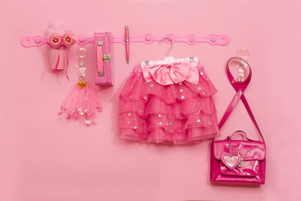 #home decorating #little girls room #pink #organisation