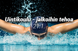 Uintikoulu - jalkoihin tehoa