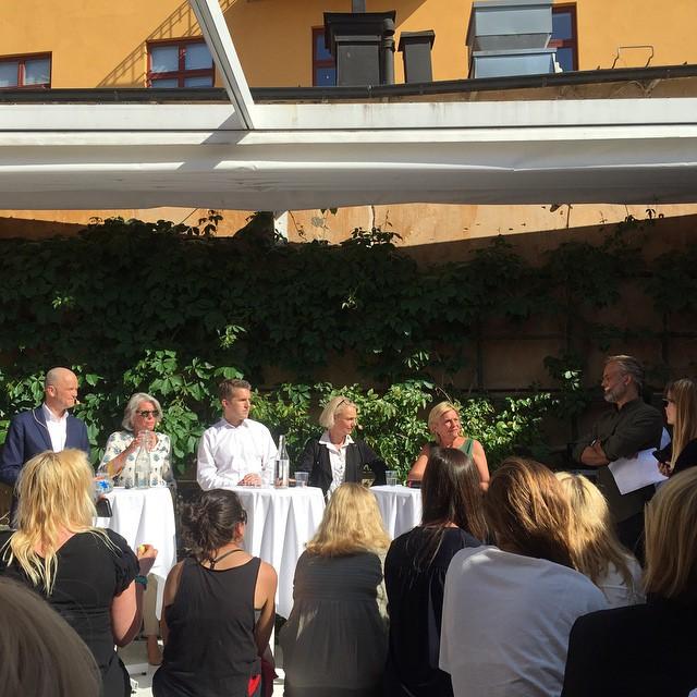 Almedalen 2015 Paneldebatt hos SPP
