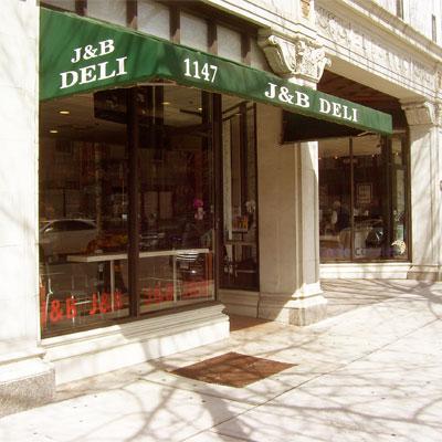 <b>J & B Deli</b><br>1147 Chapel Street<br>(203) 773-0709