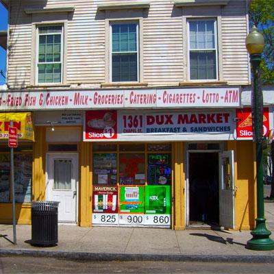 <b>Dux Market and Grocery</b><br>1361 Chapel Street