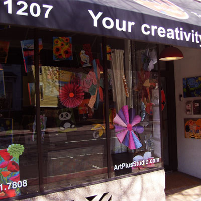 <b>ArtPlusStudio</b><br>1207 Chapel Street</b><br>(203) 500-7352