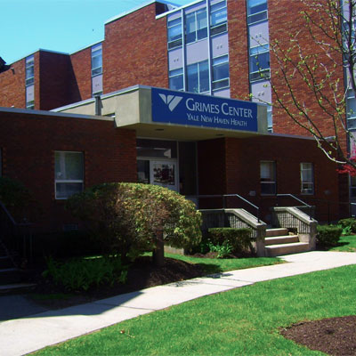<b>The Grimes Center – Yale<br>New Haven Hospital</b><br>1354 Chapel Street<br>(203) 867-8300