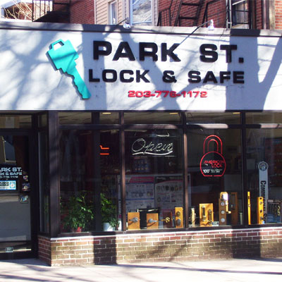 <b>Park Street Lock & Safe</b><br>177 Park Street<br>(203) 776-1172
