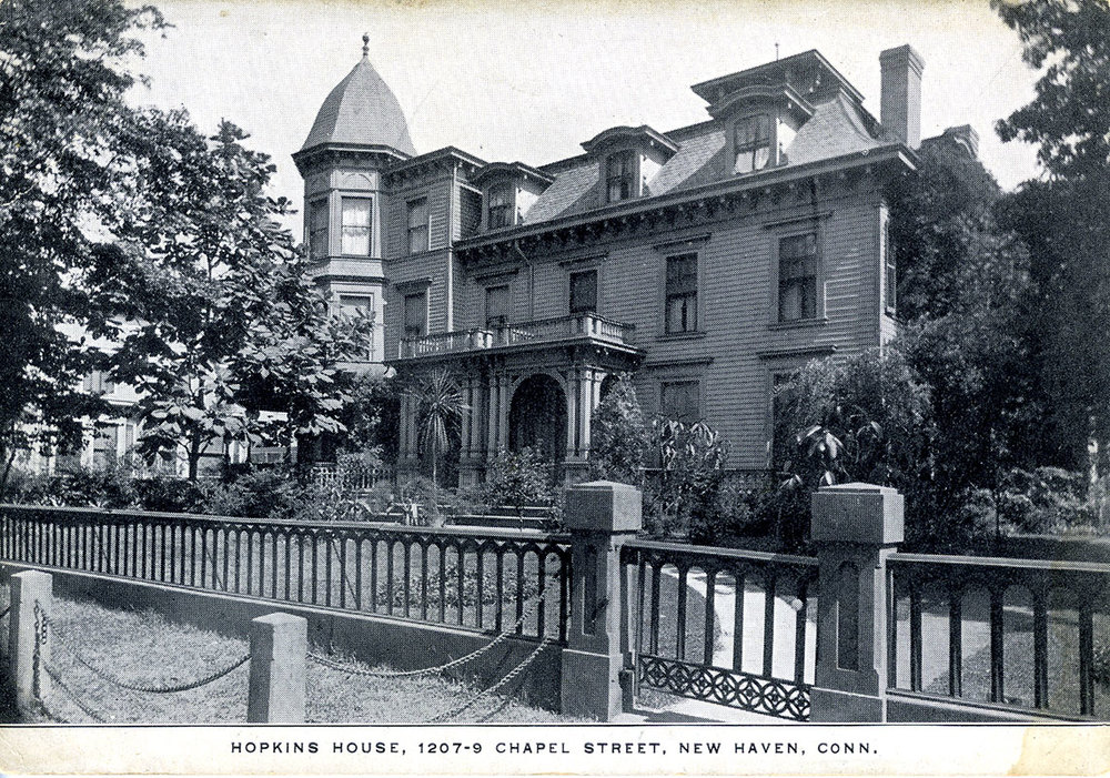 Hopkins School, now Chapel West Office & Geraldine