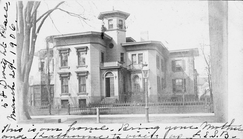 120 Dwight St., Bronson's House, now Traymore Apartments