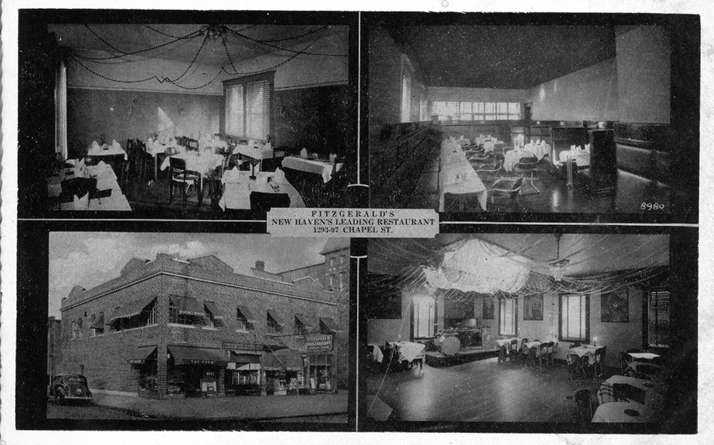 Fitzgerald's Restaurant, 1293 Chapel St.