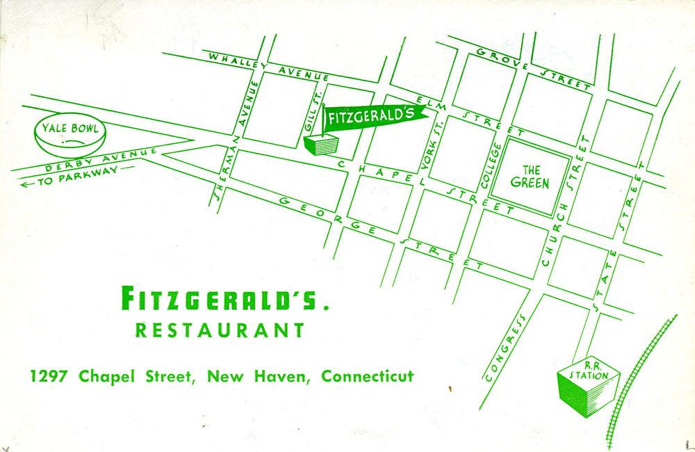 Fitzgerald's Restaurant, 1297 Chapel St.