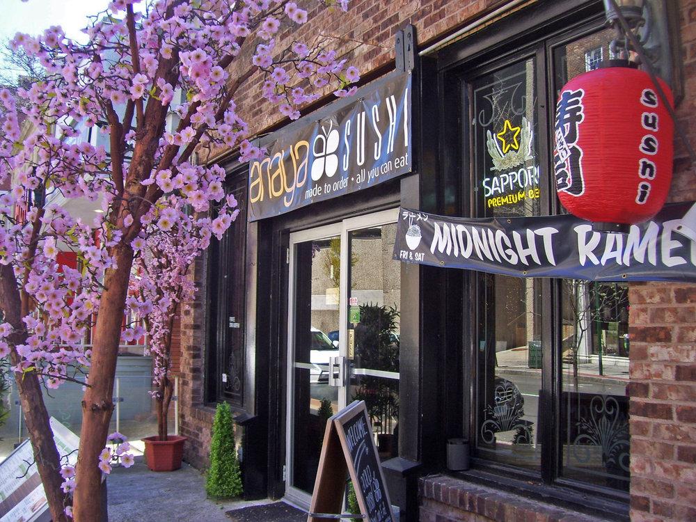 Anaya's Sushi<br> 1150 Chapel Street<br>(203) 891-6716