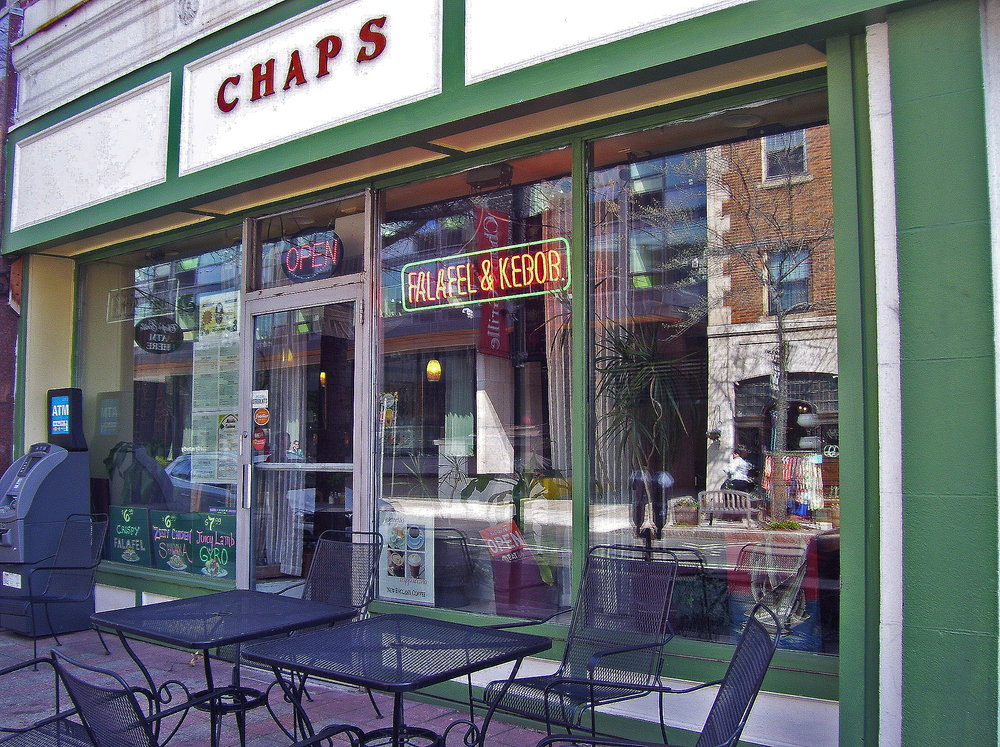 Chap's Grille<br> 1174 Chapel Street<br>(203) 562 3966