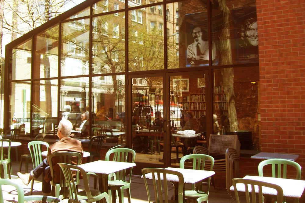 Book Trader Café<br>1140 Chapel<br>(203) 787 6147