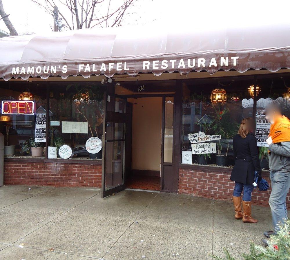 Mamouns 85 Howe Street (203) 562 8444