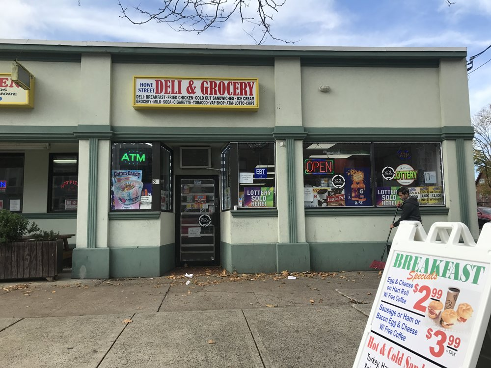 Howe Street Deli and Grocery 34 Howe Street (203)  821 7398