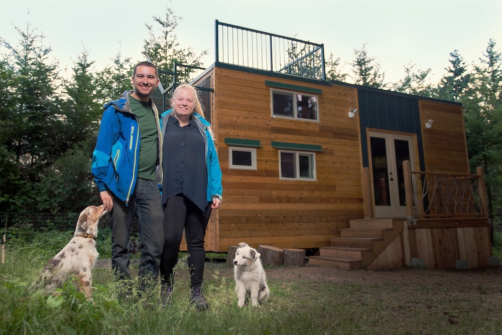 Luke and Tina's Basecamp Tiny House