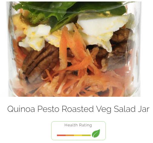 Quinoa Pesto Roasted Veg Salad