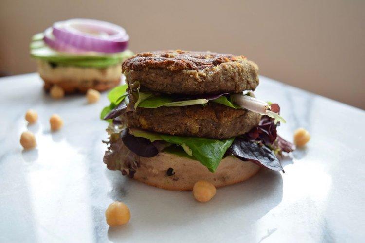 Umami Chickpea Burger