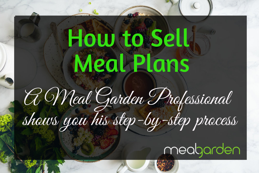how to sell meal plans in your wellness business meal planning for