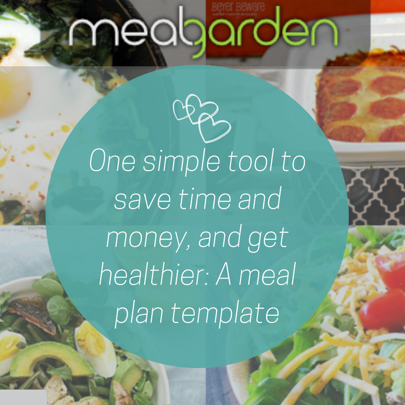 one simple tool to save time and money and get healthier a meal