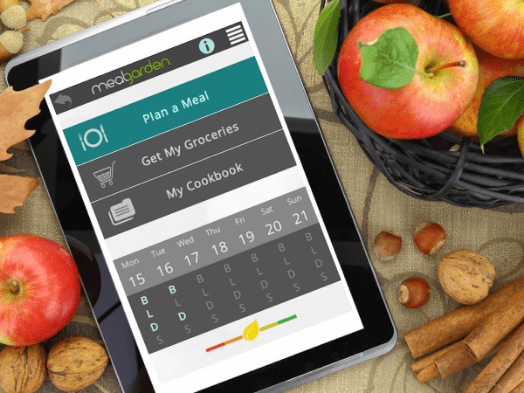 App to make healthy meal planning easier