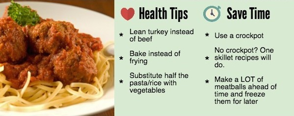 How to make meatballs healthier - and they taste better too!