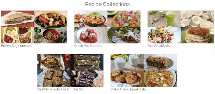 Recipe Collections make meal planning quicker and easier