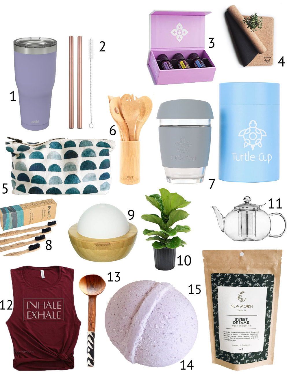 2018 Gift Guide Eco Friendly