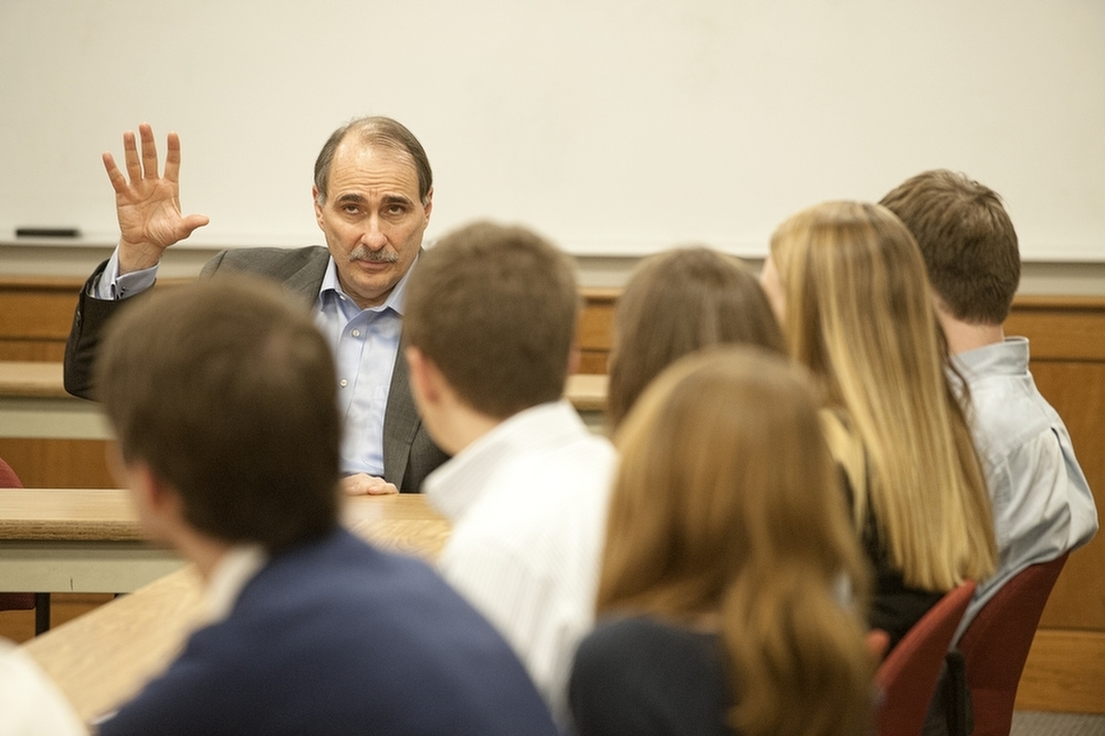 David Axelrod at BC