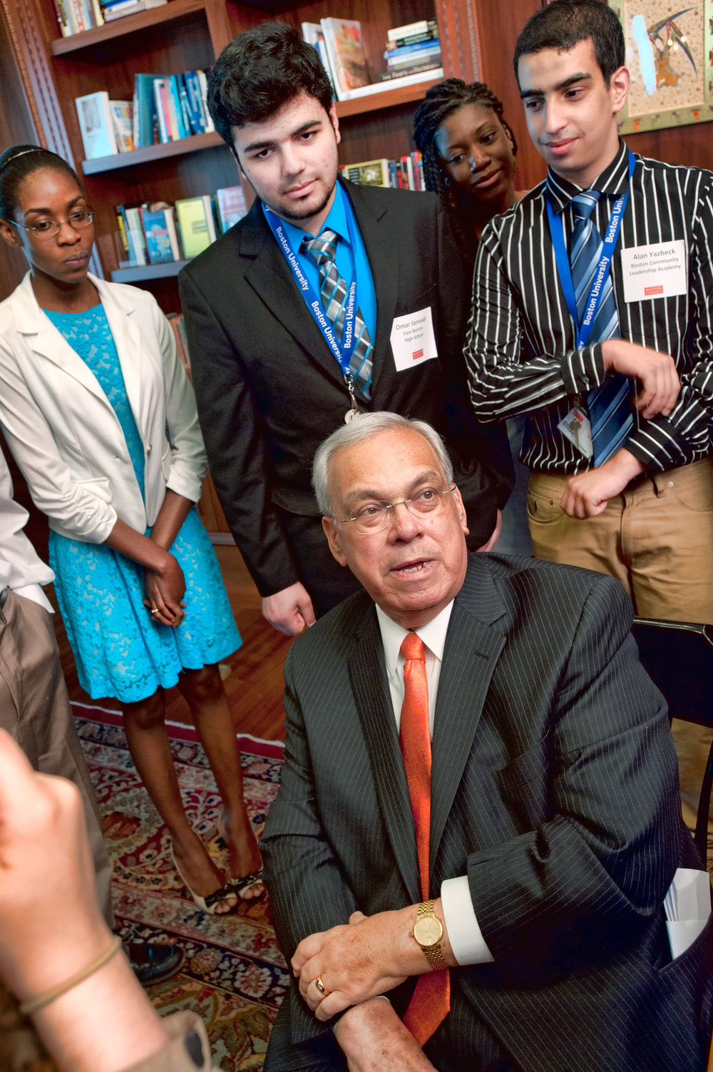 Mayor Thomas Menino