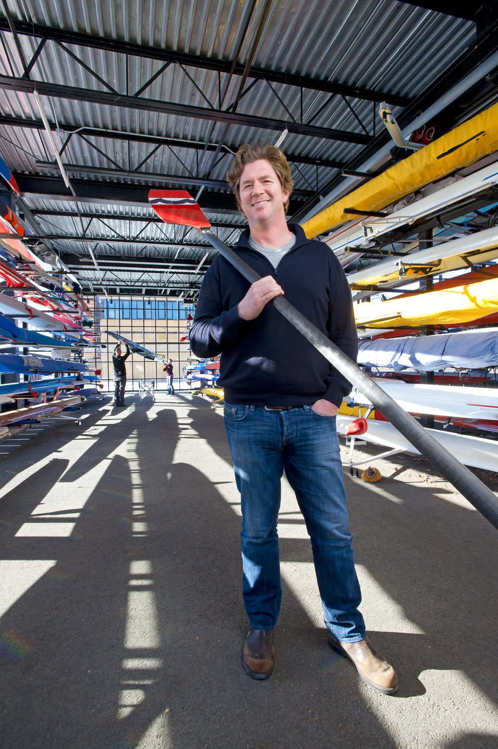 Bruce H. Smith, Executive Director of Community Rowing