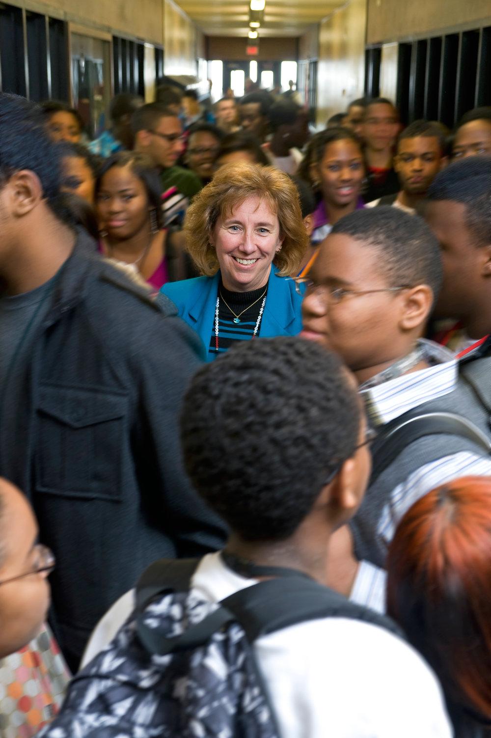 Susan Szachowicz, Principal,Brockton High School