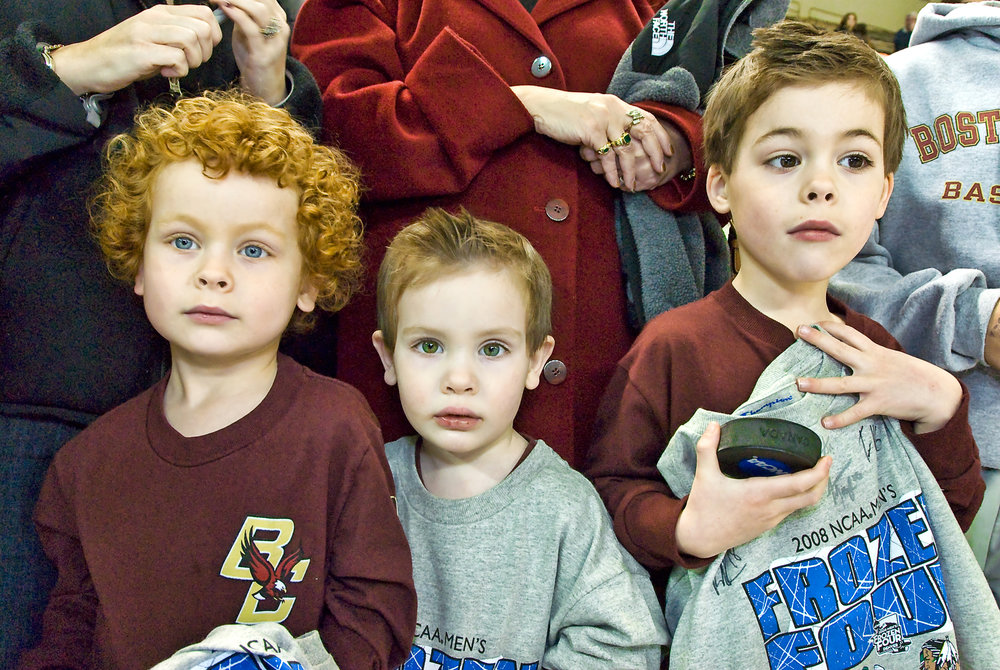 Young Hockey Fans