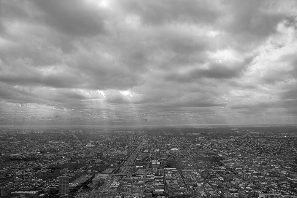 Chicago, looking west